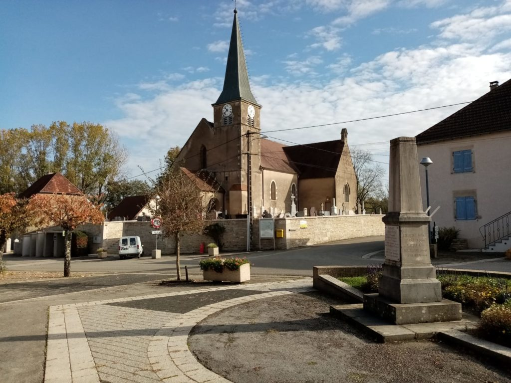 Eglise de Vaudrey